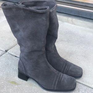 La Canadienne suede leather boots Sz 9.5